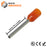 22 AWG (12mm Pin) Insulated Ferrules - Orange