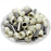 8 AWG (15mm Pin) Insulated Ferrules - Beige