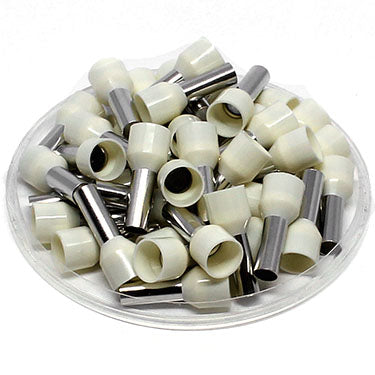 True 8 AWG (12mm Pin) Insulated Ferrules - Beige