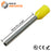 AW10018 - 18AWG (18mm Pin) Insulated Ferrules - Yellow