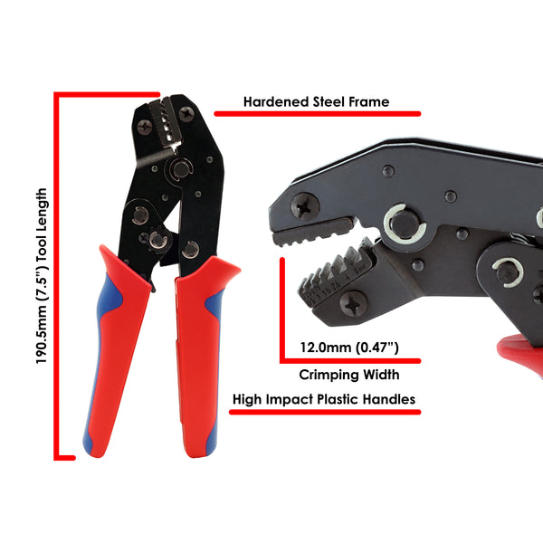 FD2410N - Crimping Tool - 24-10 AWG - Trapezoidal Profile
