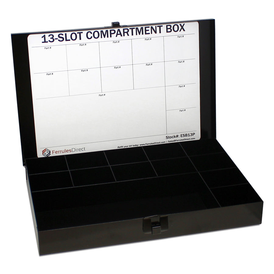 ESB13P - Metal Box - 13 Compartments