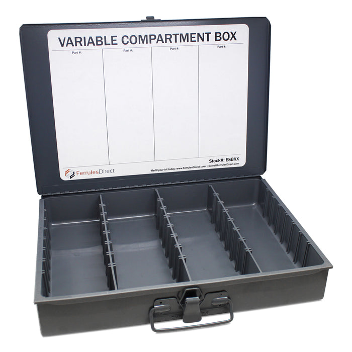 ESBXX - Compartment Box - Variable Compartments