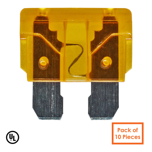 5AMP - 32V - Low Voltage Automotive & Marine Blade Fuse - Color: Tan