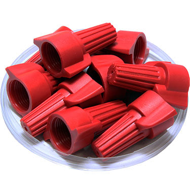 FD13DWN - Double Wing Wire Nut Connectors - 18-8 AWG - Red