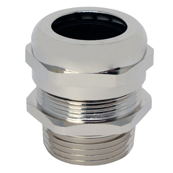 "NPT 1"" Brass Cable Gland - 18-25mm - NPT1BR"