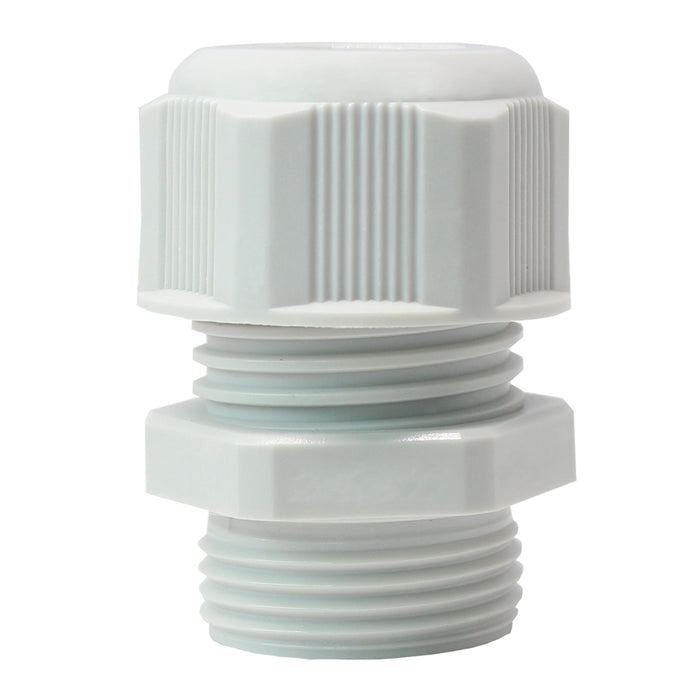 PG13.5 Nylon Cable Glands - 5-9mm - Gray - PG13509GY