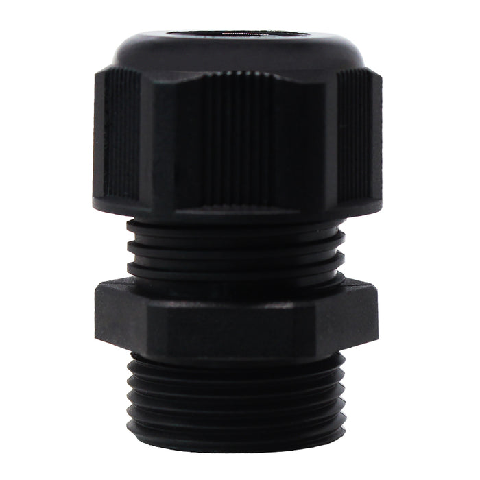 PG13.5 Nylon Cable Glands - 6-12mm - Black - PG13512BK