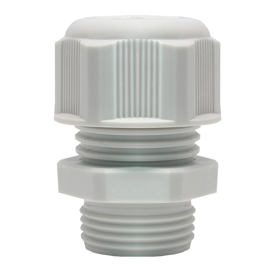 PG13.5 Nylon Cable Glands - 6-12mm - Gray -  PG13512GY