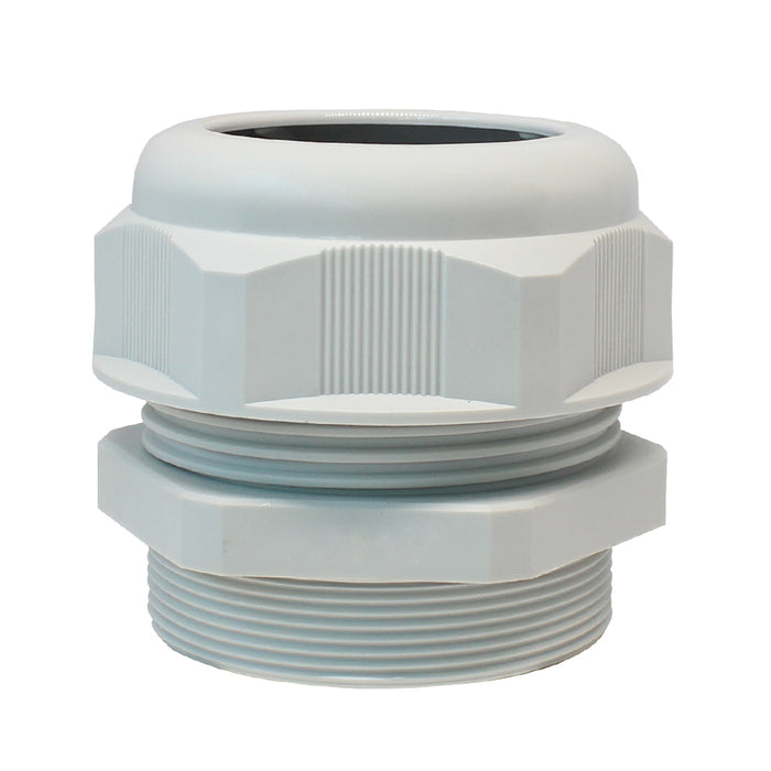 PG48 Nylon Cable Glands - 29-35mm - Gray - PG4835GY