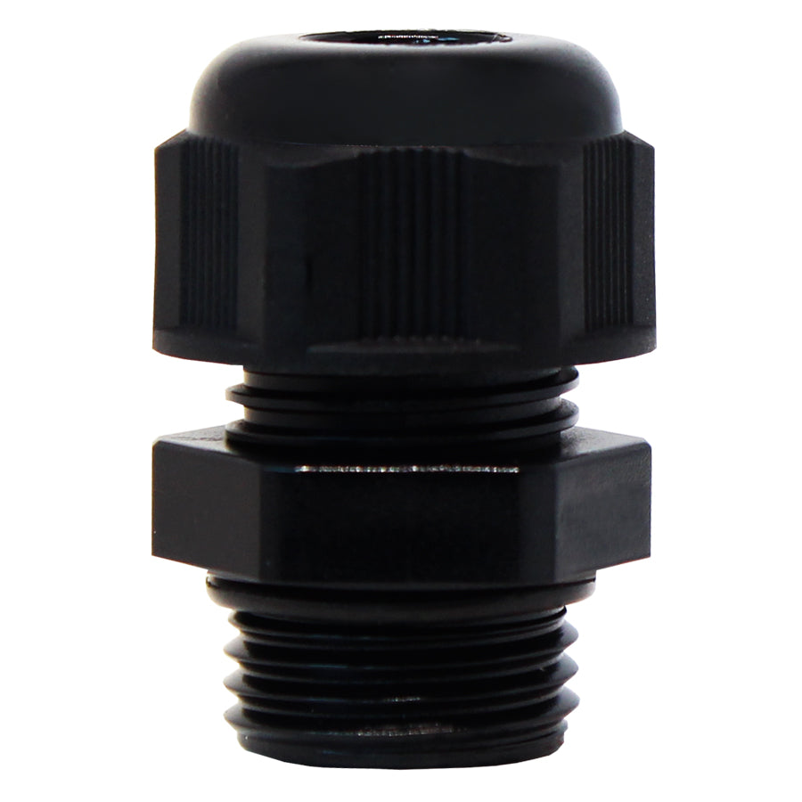 PG9 Nylon Cable Glands - 4-8mm - Black - PG0908BK