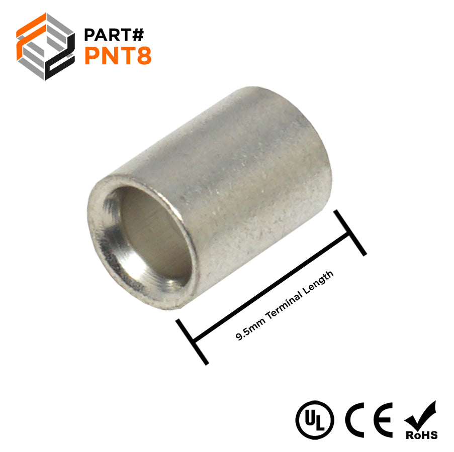PNT8 - Non Insulated Parallel Connector - 8AWG