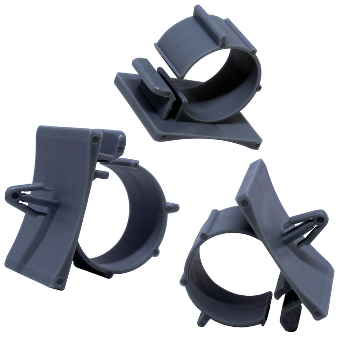 PTS0708 Push Mount Cable Clamps - Diam. 7-8mm - Gray