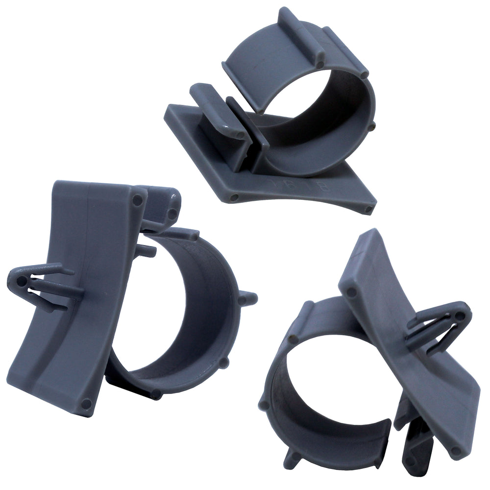PTS0607 Push Mount Cable Clamps - Diam. 6-7mm - Gray