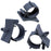 PTS1214 Push Mount Cable Clamps - Diam. 12-14mm - Gray