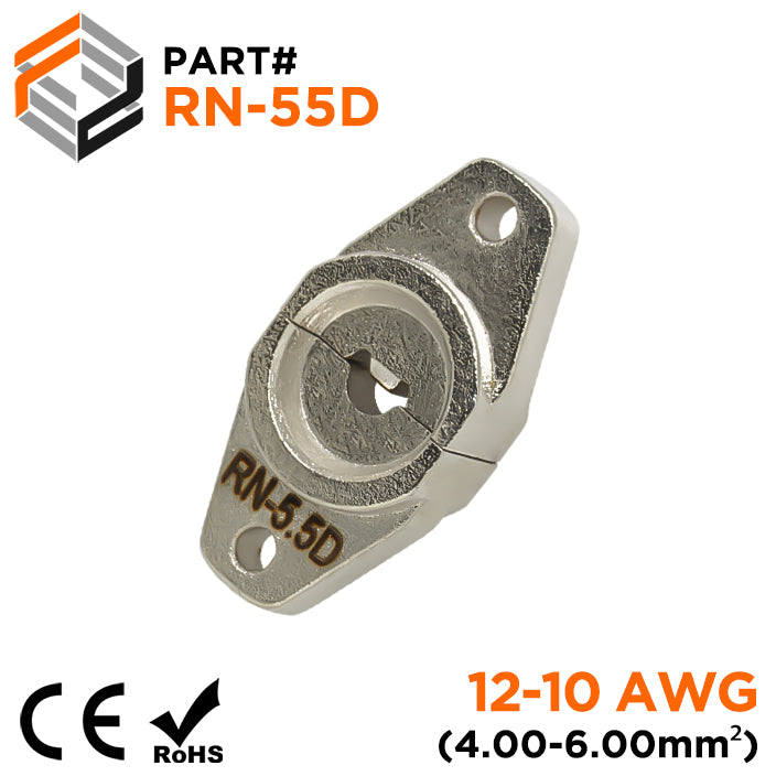 RN-5.5D - Crimping Die for Compression Cable Lugs - 12-10 AWG - Single Indent