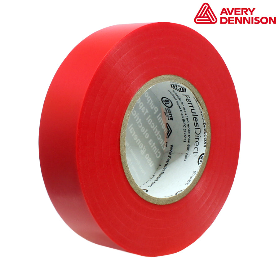 "PVC Electrical Tape - 3/4"" x 60ft - Red"