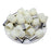 8 AWG (12mm Pin) Short Circuit Ferrules - White