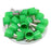6 AWG (12mm Pin) Short Circuit Ferrules - Green
