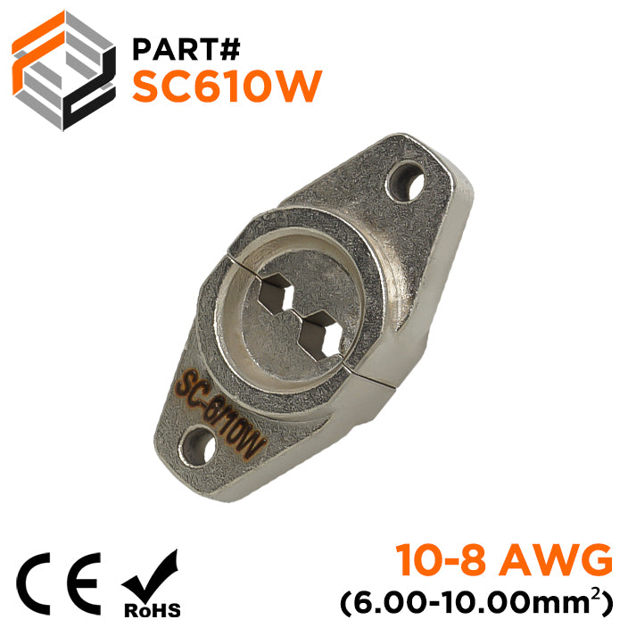 SC610W - Crimping Die for Compression Cable Lugs - 10-8 AWG - Hexagonal Profile