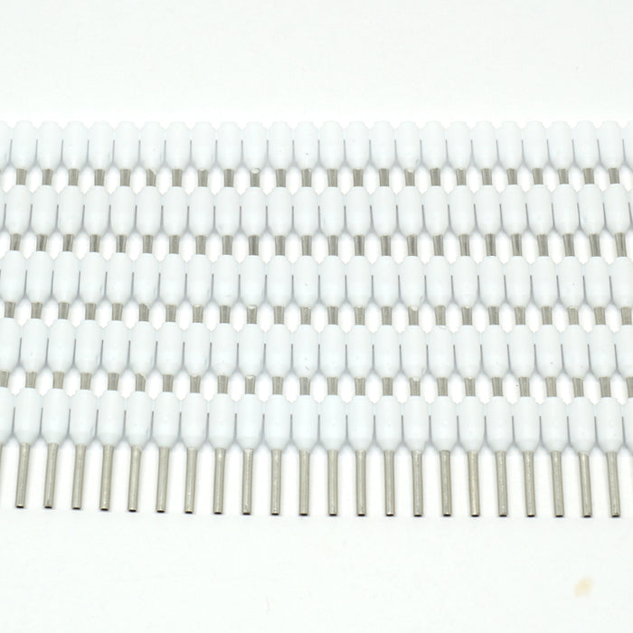 SD05008 - Strips of Ferrules - 22 AWG - White - 500pcs