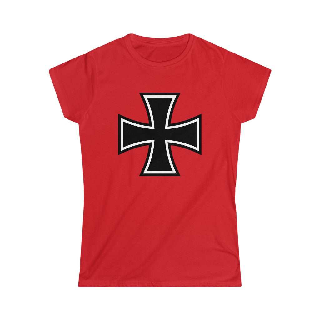 Iron Cross | Womens Fashion Fit T-shirt (S-2XL)