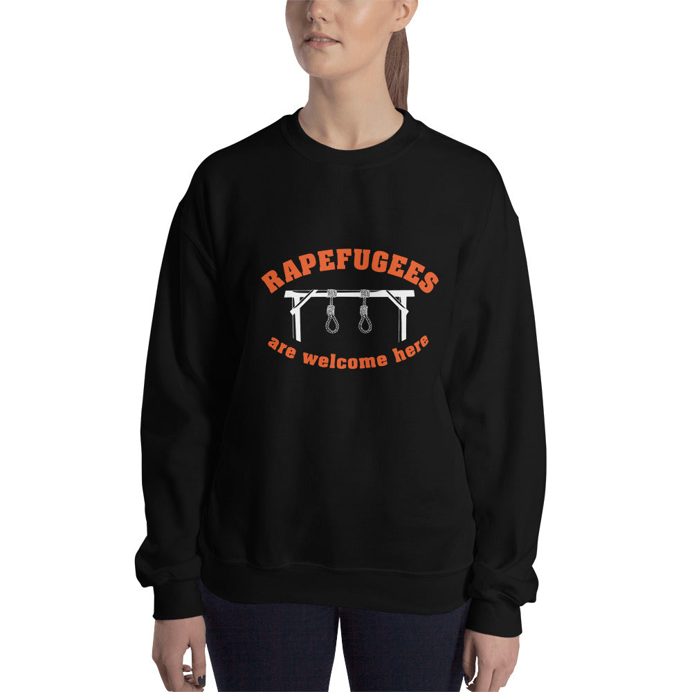 Rapefugees welcome | Sweatshirt (unisex)
