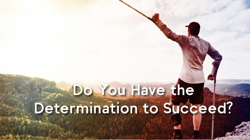 Do You Have the Determination to Succeed - XOH!DNAIR