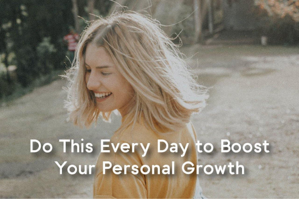 How to boost personal growth every day