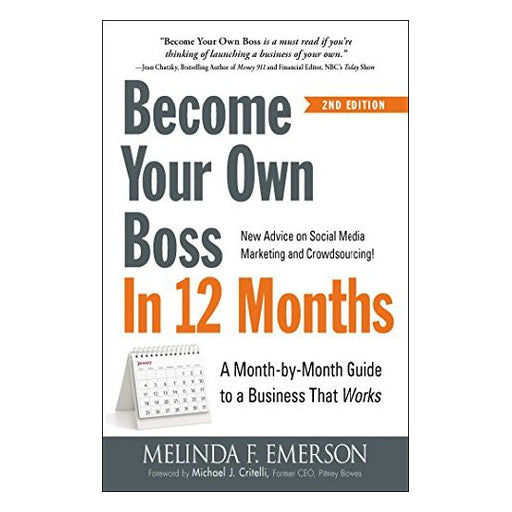 Become your Own Boss in 12 Months Book