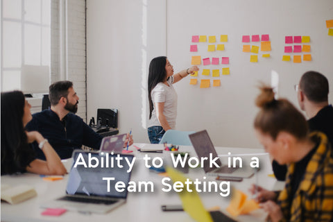 ability to work in team sitting