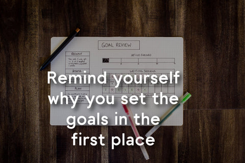 set your goals in first place