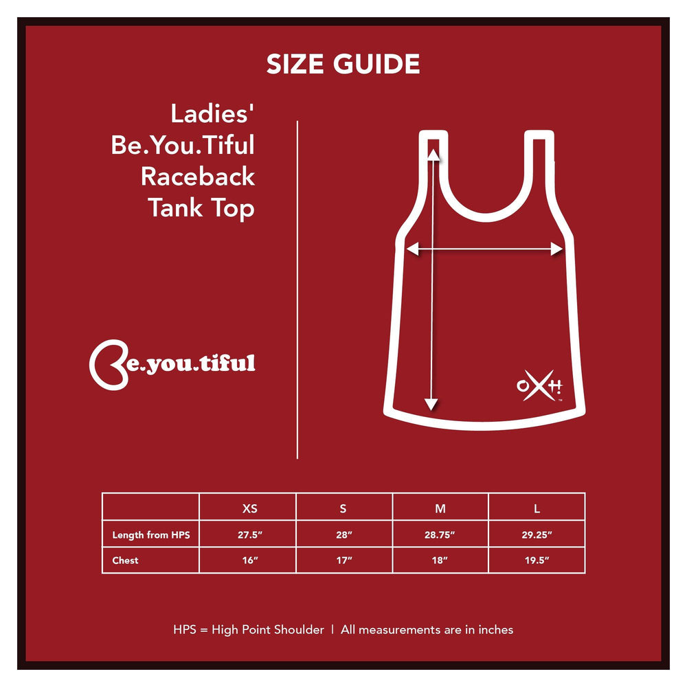 Ladies' Be.You.Tiful Raceback Tank Top