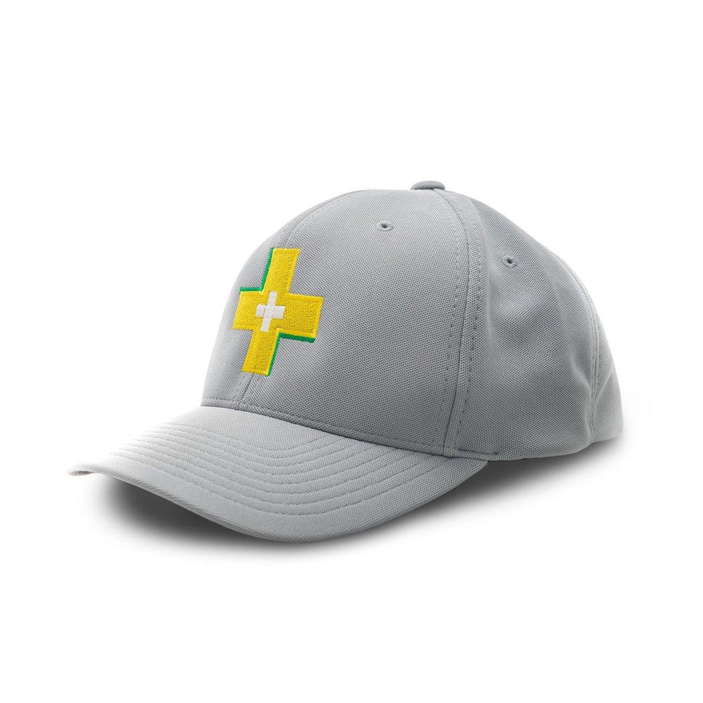 Stay Positive Silver Motivational Cap | XOHDNAIR