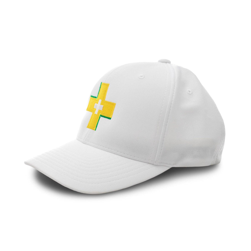 Stay Positive White Motivational Cap | XOHDNAIR