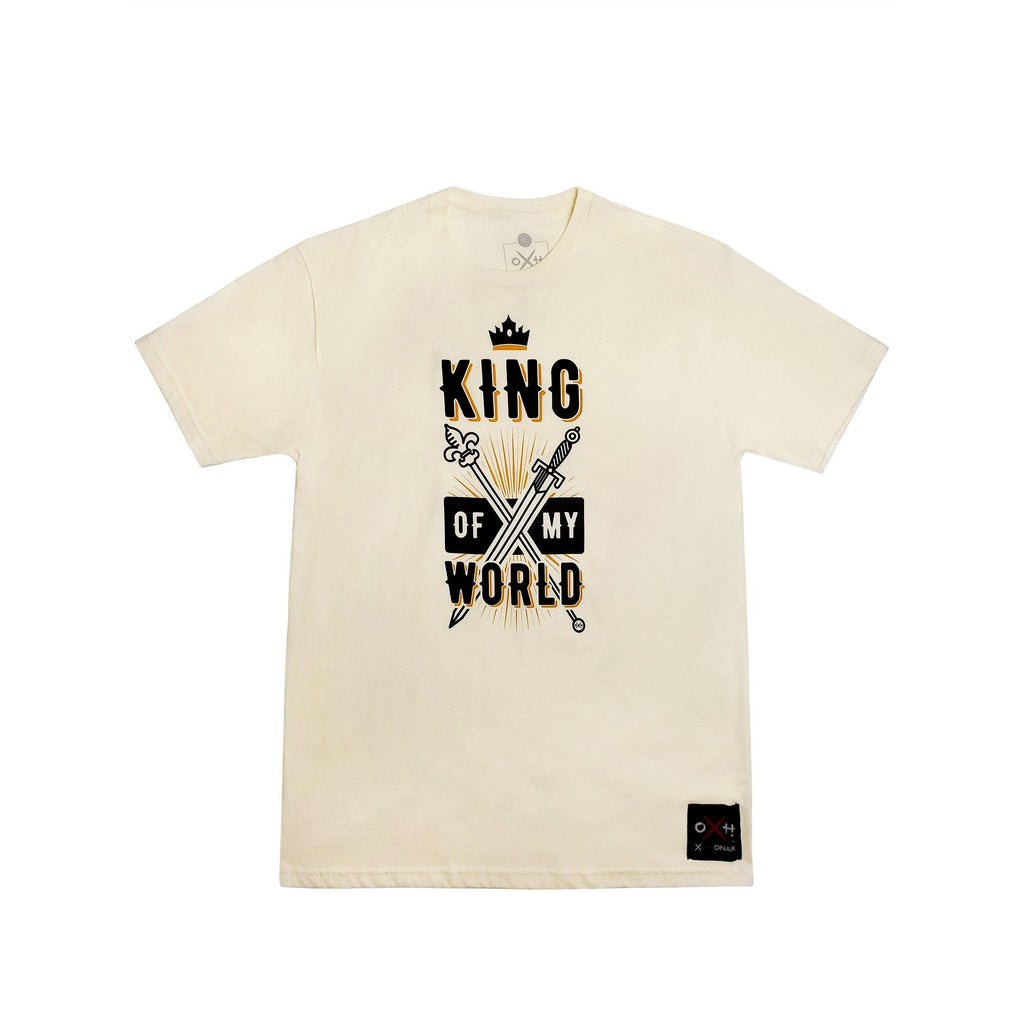 King of My World Crew Neck T-Shirt for Men | XOHDNAIR