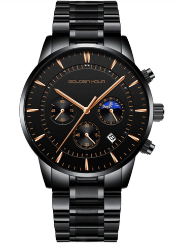 Emperor - S Rose Gold Black