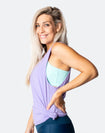 Breastfeeding Top - Casual Tank Lavender