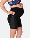 ** CLEARANCE ** High Waisted Bike Shorts - Classic Black
