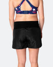 ** CLEARANCE ** High Waisted Running Shorts - Flex Shorts Black