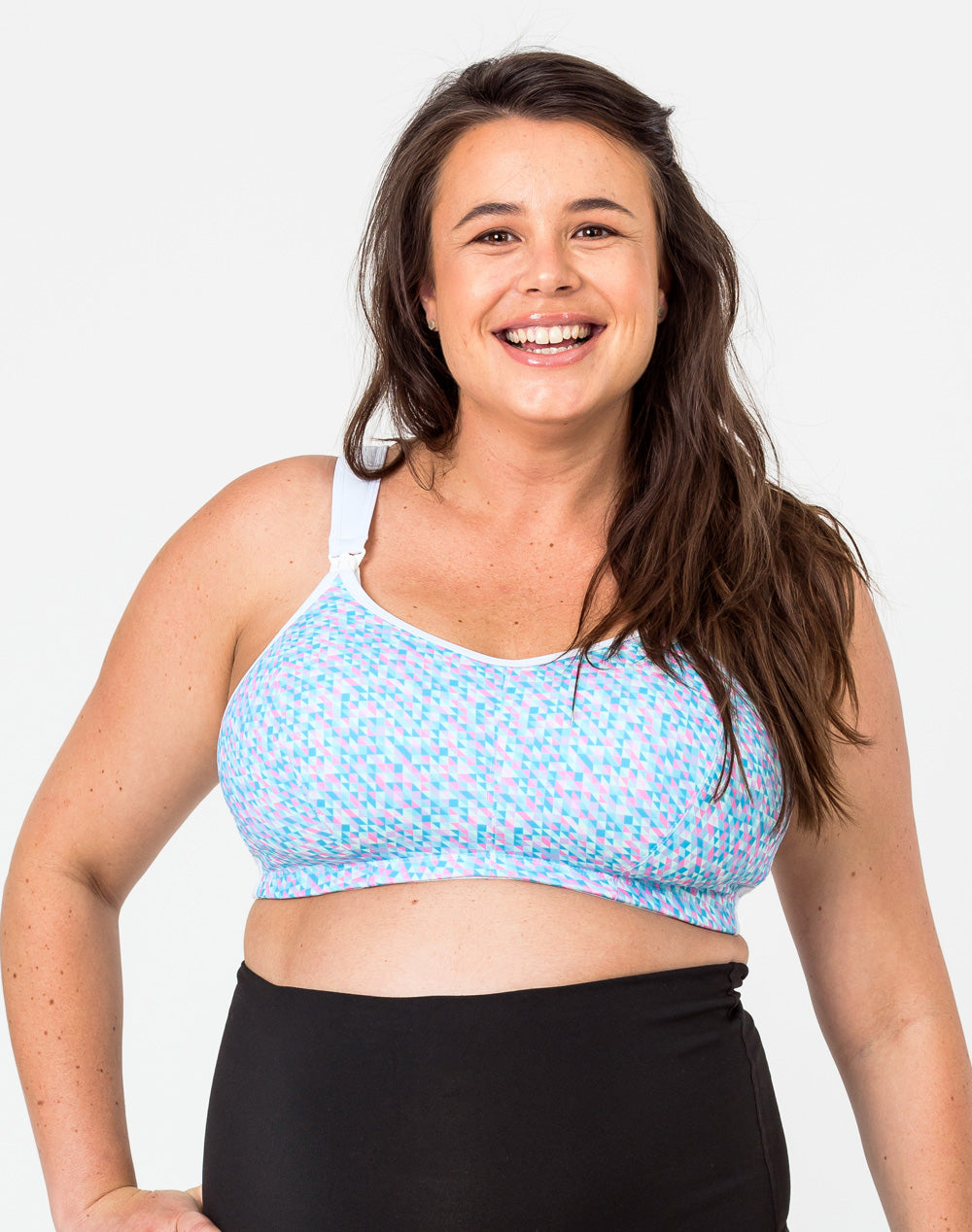 Nursing Sports Bra - Ultimate Bra Confetti
