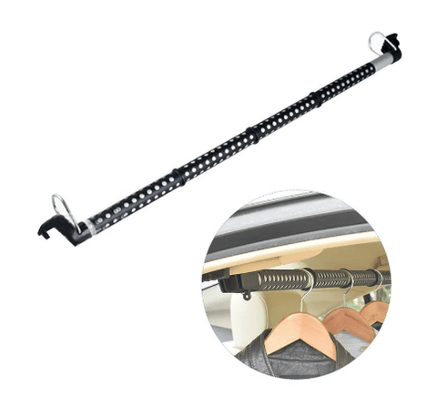 Extendable Heavy-Duty Car Clothes Hanger Bar