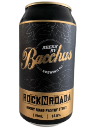 The Beer Drop Bacchus Brewing Rocknroada Rocky Road Pastry Stout