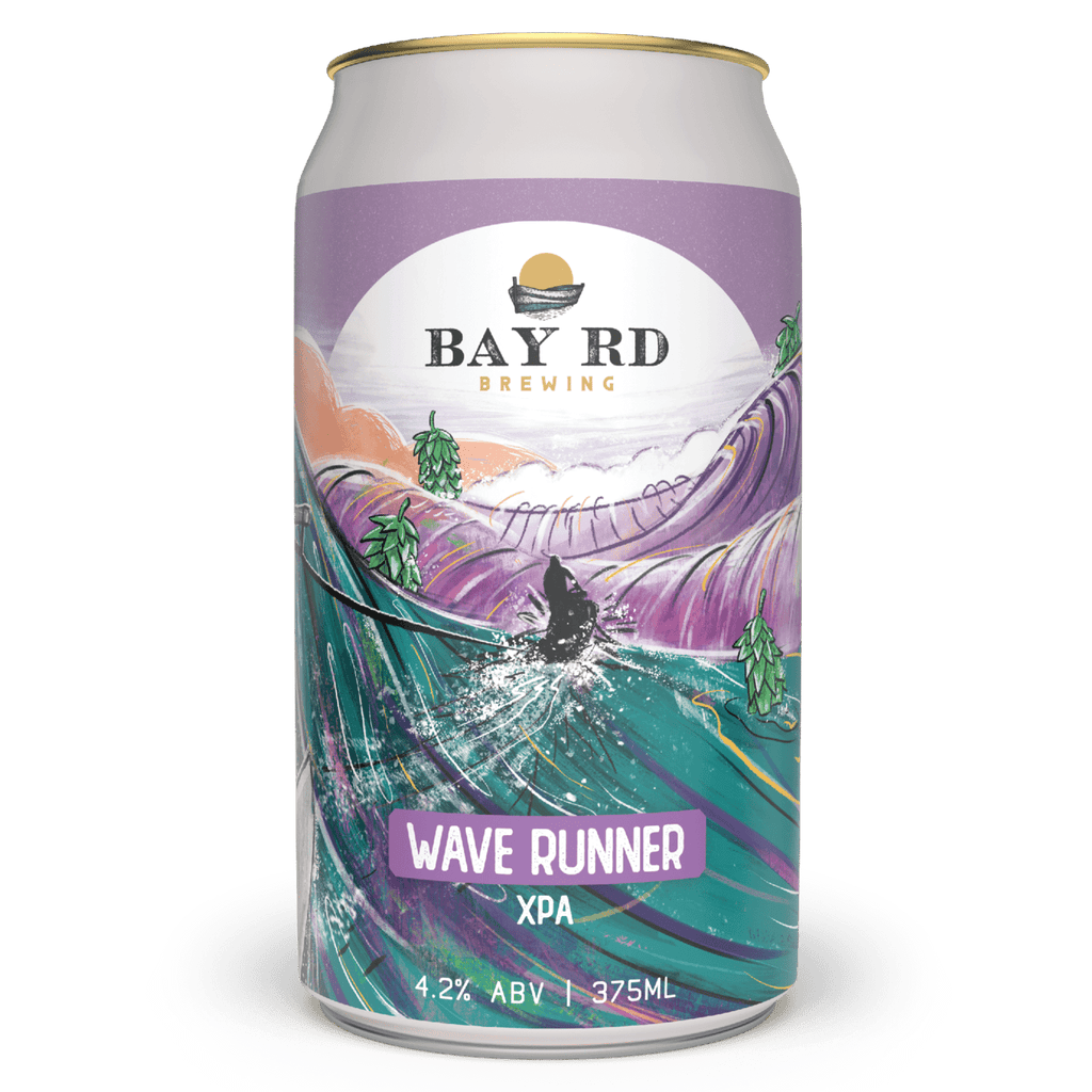 The Beer Drop Bay Rd Brewing Wave Runner XPA