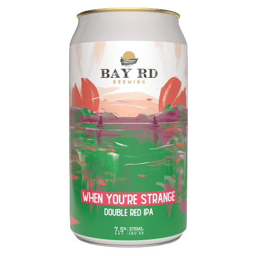 The Beer Drop Bay Rd Brewing When You're Strange Double Red IPA