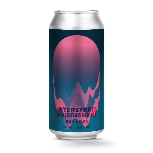 The Beer Drop Hawkers x Fox Friday Interstrait Transfusion DDH NEIPA