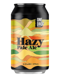 The Beer Drop One Drop Brewing Co Hazy Pale Ale 375ml