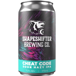 The Beer Drop Shapeshifter Brewing Co - Cheat Code Sour Hazy IPA