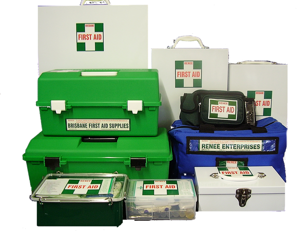 First Aid Kits and Supplies Australia - Warehouse Prices Shipping Australia wide - Renee Enterprises Brisbane First Aid Supplies