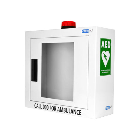 Heartsine Wall Cabinet with Alarm and Light - Brisbane First Aid Supplies